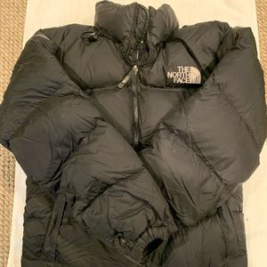 preowned north face men's size small (stow)
